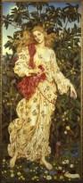 """Flora, 1894, 78"""" x 34"""""""