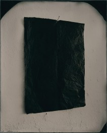 Dead letter, 2015. Ambrotype, 1 of 2 plates made 25 x 20 cm (plate size); 44.8 x 33.8 cm (framed size)