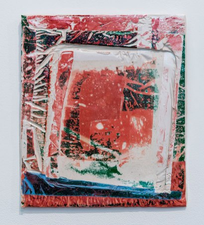 Christopher McSherry: Pad, 2014. Polyester resin, 35 x 30 x 2 cm