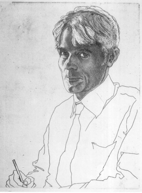 Self-portrait aged 57, 1971