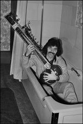 Tony Iommi and sitar