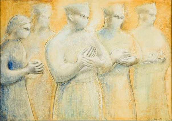 Barbara Hepworth, The Hands, 1948 © Bowness, Hepworth Estate