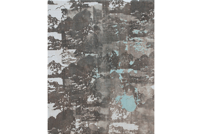 Untitled No.12, 2015, mixed media on canvas, 30 x 24 cm
