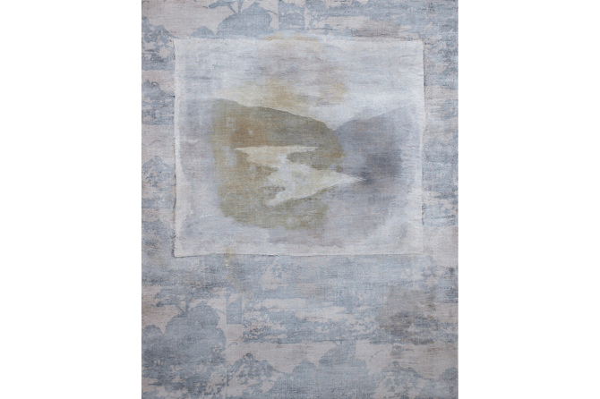 Untitled No.5, mixed media on canvas, 30 x 24 cm