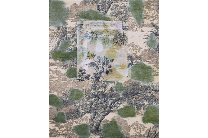 Untitled No.7, 2015, mixed media on canvas, 30 x 24 cm