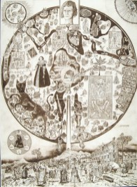 Map Of Nowhere, 2008. Etching from five plates on one sheet