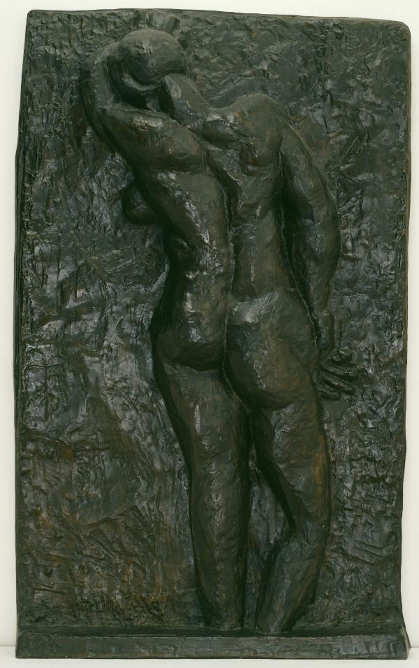Back I. Nu de dos I c.1909-10, cast 1955-6. Bronze, 1899 x 1168 x 184 mm.
