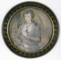Lucy, Countess of Bedford (c.1606), Isaac Oliver