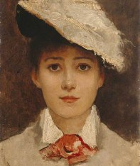Louise Jopling, 1877, Manchester City Galleries
