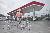 Helen Marshall & Risang Yuwono: Project Tobong, Gas Station, Indonesia, 2012