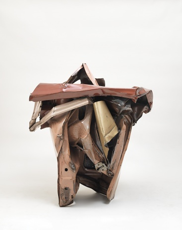 Miss Lucy Pink, 1962, Painted and chromium-plated steel, 119.4 × 106.7 × 99 cm