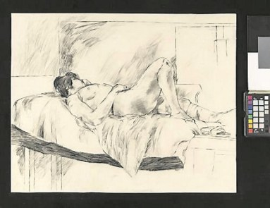 Nude Female, Lying, 1964