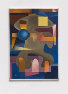 Pedro Álvarez: Sin Título (Untitled), ca. 1952.Oil on canvas,33 x 23 1/8 x 7/8 inches (83.8 x 58.5 x 2 cm)