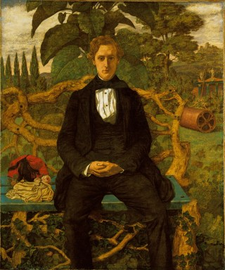 Portrait of a Young Man, 1853 by Richard Dadd (now thought to be a portrait of Dr Charles Hood, the artist's doctor)