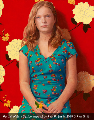 Paul P Smith: Portrait of Esta Sexton aged 12