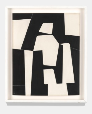 Pedro de Oraá: Sin Título (Untitled), 1960. Emulsion on cardboard, 23 5/8 x 15 3/4 inches (60 x 40 cm)