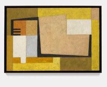 Rafael Soriano: Composición (Composition), 1954.Oil on canvas,22 1/4 x 32 3/8 x 7/8 inches (56.5 x 82 x 2 cm)