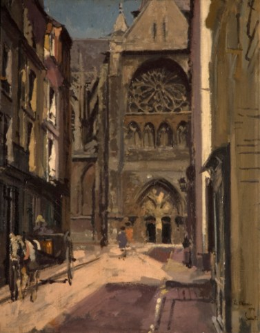 La Rue Pecquet, 1900. Birmingham Museums Trust