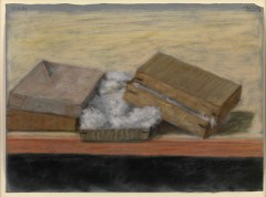 Pastel Boxes, 1983. Pastel on paper, 32.1 x 23.2 cm