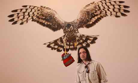 'Jeremy Deller's visions of England.' Photograph: David Levene for the Observer, 1 June 2013.