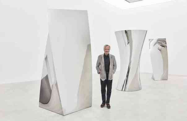 'You could disappear into it': Anish Kapoor on his exclusive rights to the 'blackest black' / Photograph: Keith Park/Kukje Gallery / Guardian, 26 September 2016