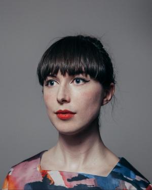 "Scottish Herald, 2016: ""Meet Rachel Maclean: The candy-coloured nightmare world of artist to represent Scotland at Venice 2017."" Photo: Craig Gibson."
