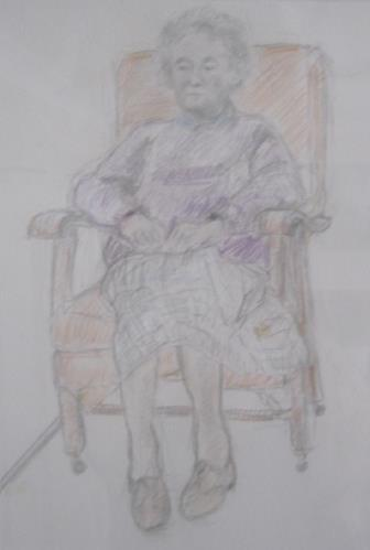 MOTHER │ 2007 │ Pencil and crayon