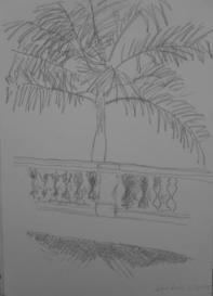 São Luis, February 2009, pencil on paper