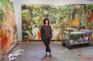 """Phaidon, 2020: """"Cecily Brown takes on English country life in her new Blenheim Palace show"""""""