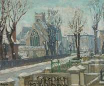St Peter's Church, Belsize Park, Frank Spencer Curtis Budgen (1882–1971), 1900