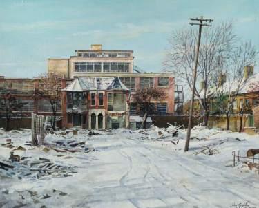 Eagle Avenue, Tottenham, John Seymour Godden (1930–1999), 1970