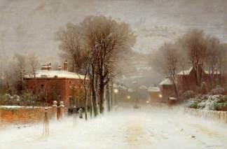 Winter Scene, Hampstead Heath, Robert Finlay McIntyre (c.1846–1906)
