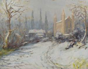 St Paul's Church, The Ridgeway, Mill Hill, Henry Childe Pocock (1854–1934), 1931