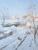 Snow at Hampstead, Donald Chisholm Towner (1903-85), 1967