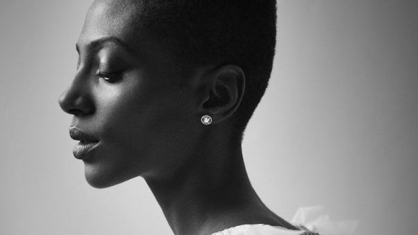 Photograph of Yrsa Daley-Ward by Nicole Nodland for the BBC, 7 January 2018