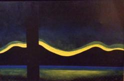 Lagoa Santa, acrylics on canvas, 2001