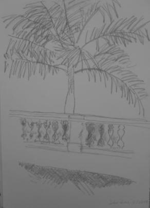 São Luis, February 2009, pencil on paper
