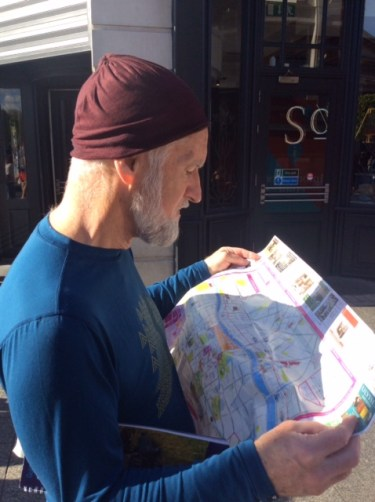 Orienteering: how to get lost on a canal
