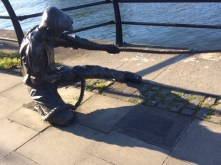 The Linesman by the Liffey