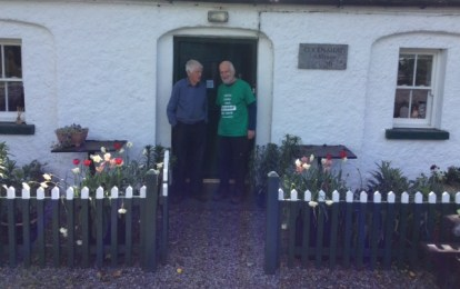 With Paddy Killigan, son-in-law of the last lock-keeper at this place - and a very kind man