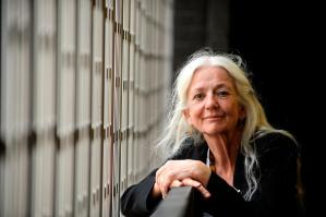 """Irish Independent, 2018: """"I believe that two lines of poetry can save a life."""" Photo: Caroline Quinn."""