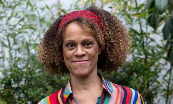 "The Guardian, 10 December 2020: ""Author hopes to inspire students of colour as Rose Bruford college appoints her as president."" Photograph: David Hartley."