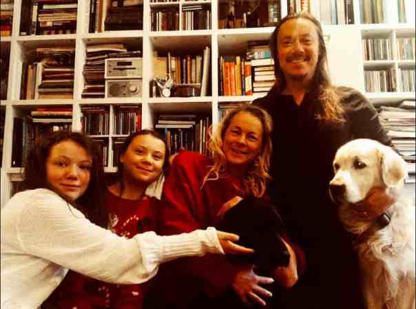 Greta's Christmas 2018 Instagram post: 'Happy holidays from me and my family!' Photograph: Courtesy Greta Thunberg via instagram