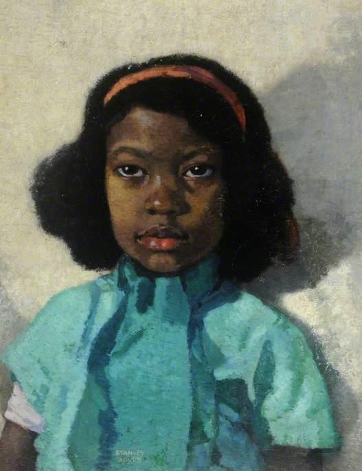 Stanley Royle: Portrait of a West Indian Girl; Doncaster Museum Service.