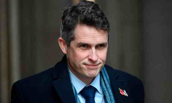 Gavin Williamson. 'Resources and goodwill have been squandered with a thoroughness that would make more sense as deliberate villainy.' Photograph: Justin Tallis/AFP/Getty Images