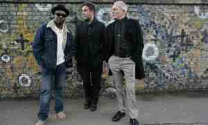 """A 2009 photograph of Ska band the Specials, (from left) Lynval Golding, Terry Hall and John Bradbury. """"We were doing something that wasn't in London. It was a sense of pride in where we were.' Photograph: Martin Godwin/The Guardian"""