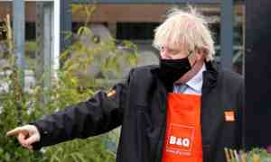Boris Johnson: vaulting ambition, but varying convictions. Photograph: Getty Images