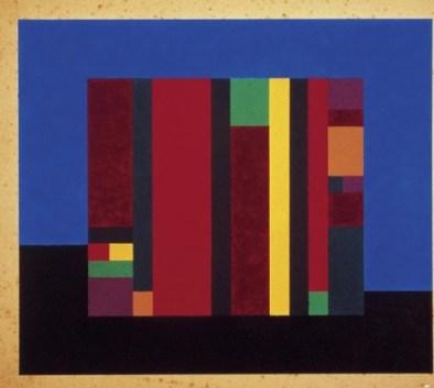 UNTÎTLD │ 1956 │ Guāš on cādbwd │ 409 x 409 mm
