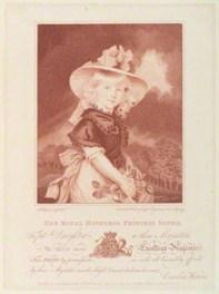 Caṛlîn Wotsn │ PRINSES SFĪA (aftr Jon Hopnr) │ Publišt 1786 │ Stiṗlingrevñ │ Pêprsîz: 214 x 160 mm │ Našnl Pwtritgaḷri