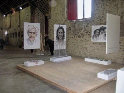'Transient Threads', Cotley Barn, 2011